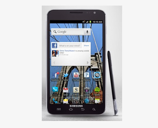 Samsung Galaxy Note με Ice Cream Sandwich στα όνειρά σου!