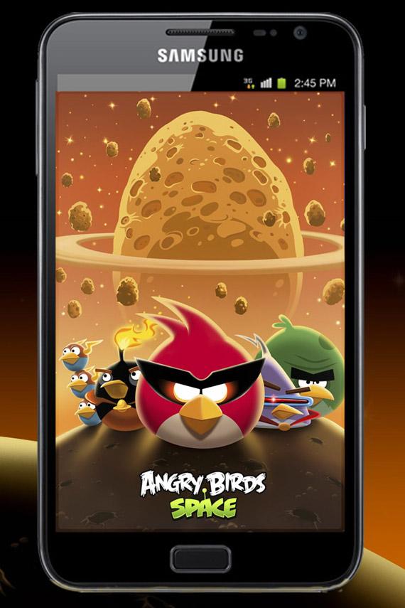 Angry Birds Space, Έρχονται με επιπλέον υλικό στο Samsung Galaxy Note