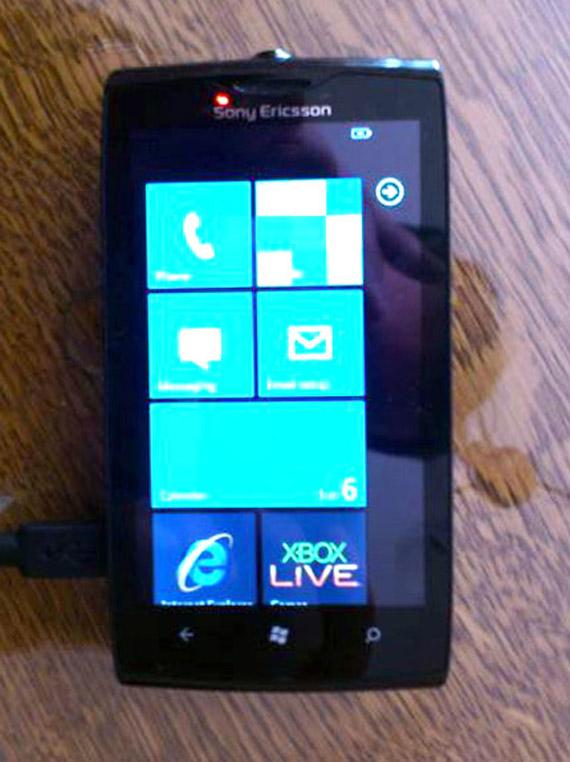 Sony Ericsson Julie, Πρωτότυπο με Windows Phone εμφανίζεται στο eBay [fake?]