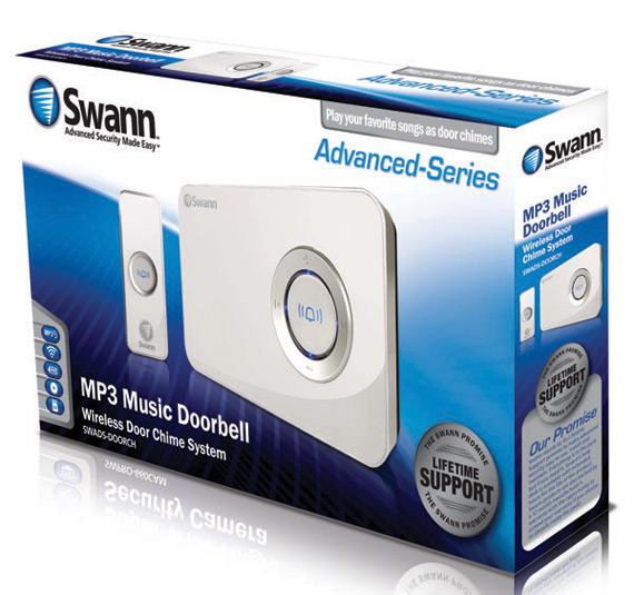 Swann MP3 DJ Doorbell, Άνοιξε την πόρτα στον Dj