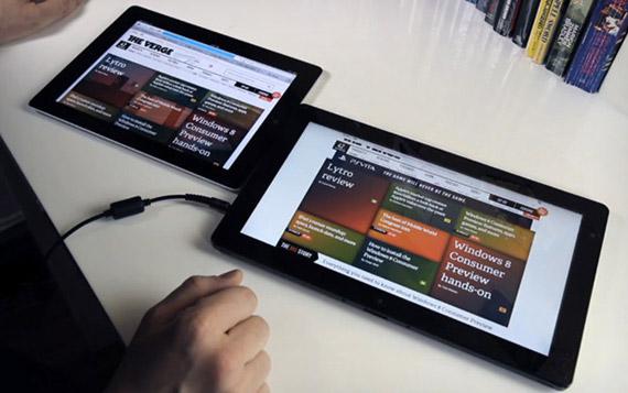 Windows 8 tablet εναντίον iPad 2