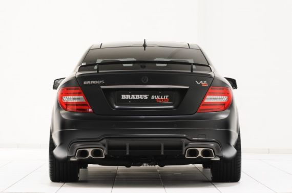 Mercedes-Benz C 63  Brabus stealth edition