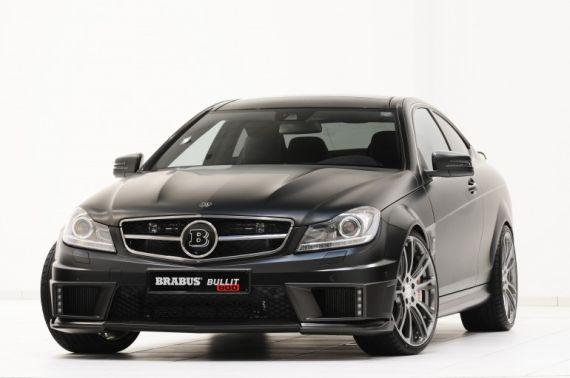 Mercedes-Benz C 63  Brabus stealth edition