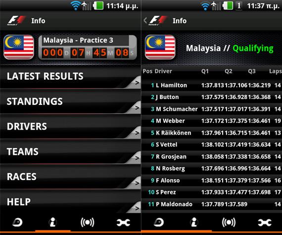 Tech How-to, Formula 1 2012 πως θα ακολουθήσω την σεζόν στο smartphone