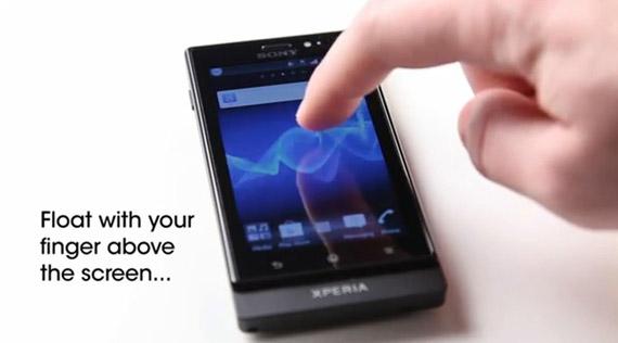 Sony Xperia Sola, Η τεχνολογία πίσω από την οθόνη floating touch