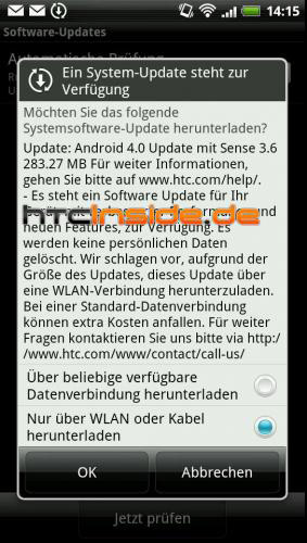 HTC Sensation XE, Ξεκίνησε στη Γερμανία η αναβάθμιση σε Ice Cream Sandwich