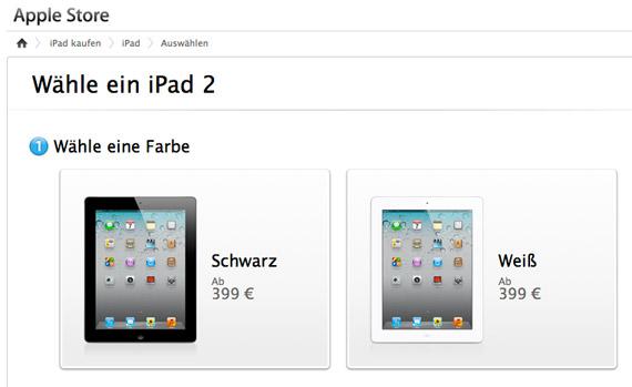 iPad 2 16GB Wi-Fi στα 399 ευρώ στη Γερμανία, Ελλάδα πόσο θα πέσει η τιμή του;
