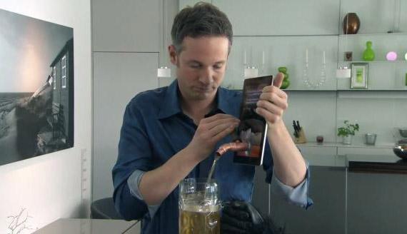 iPad HD, Θα σερβίρει και μπύρα;