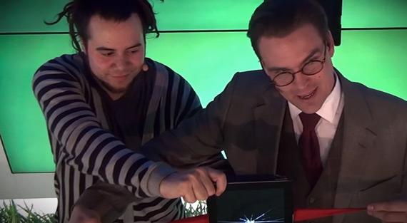 Μάγοι δίνουν παράσταση με 7 iPad