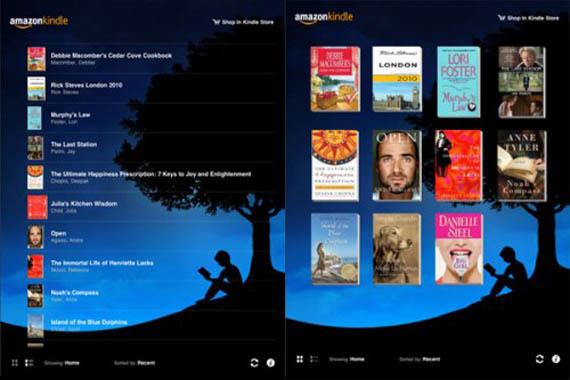 Amazon Kindle application