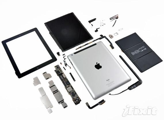 Το νέο iPad από μέσα [teardown]