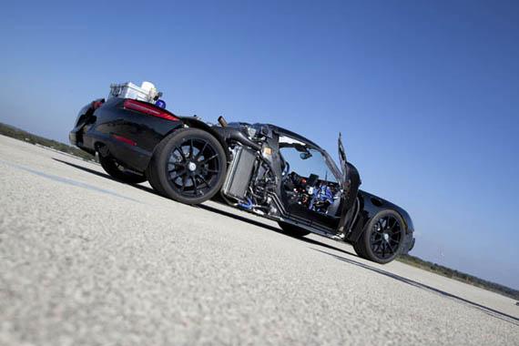 Porsche 918 Prototype, Plug-in υβριδικό υψηλών επιδόσεων