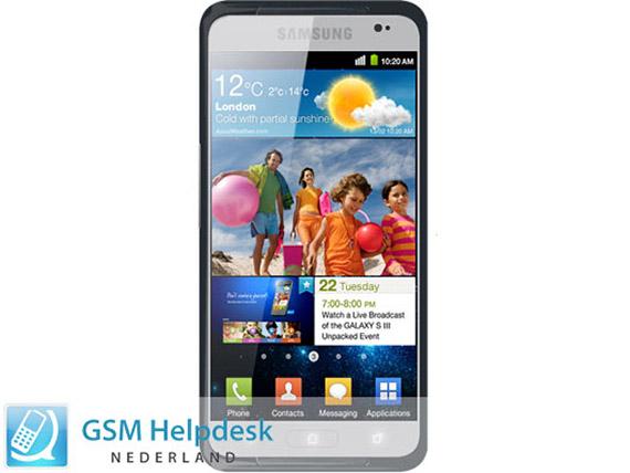 Samsung Galaxy S III, Ακόμα μία φωτογραφία διαρρέει