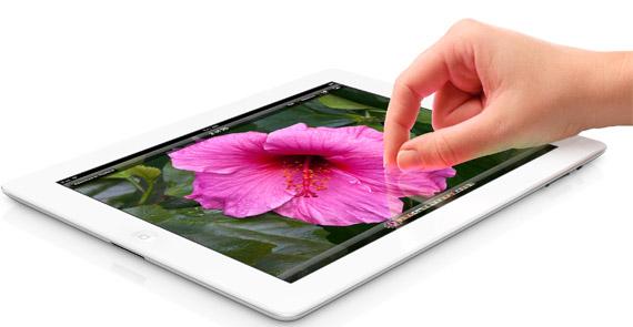 Νέο iPad, Ο επεξεργαστής A5X είναι χρονισμένος στο 1GHz και μνήμη RAM 1GB
