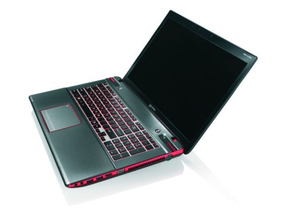 Toshiba Qosmio X870, Gaming laptop 17,3 ιντσών