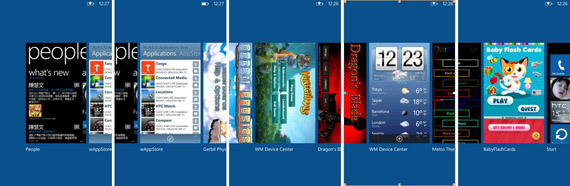 Windows Phone Tango, Multitasking με 8 apps στο background