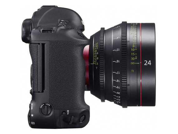 Canon EOS-1D C, Τέλος το 1080p-έρχεται το 4K