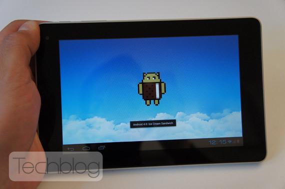 Huawei MediaPad με Ice Cream Sandwich ελληνικό βίντεο παρουσίαση