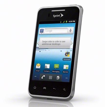 LG Optimus Elite, Οικολογικό κινητό [Αμερική]