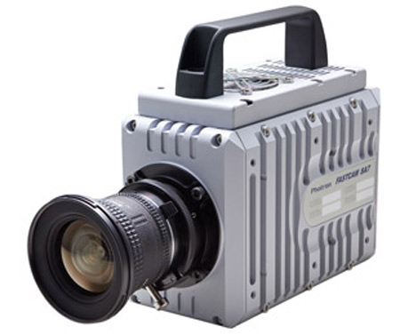 Photron Fastcam SA7, Ηi speed κάμερα τραβάει βίντεο με 3500 frames per second!