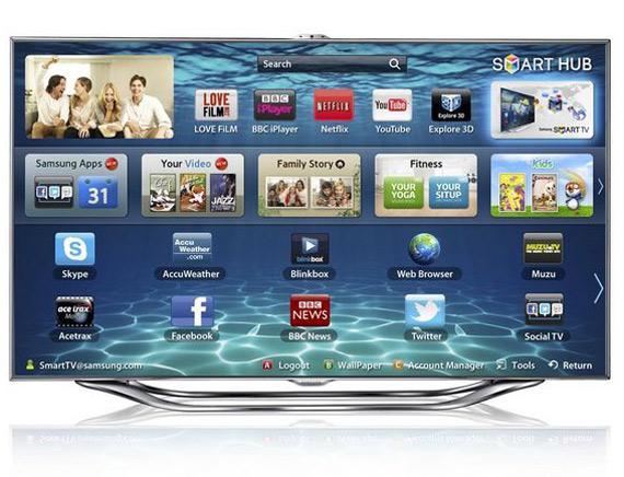 Samsung 55ES8000, Smart Interaction, Smart Content, Smart Evolution