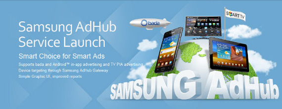 Samsung AdHub Market, Ενσωματωμένες διαφημίσεις στα Samsung κινητά
