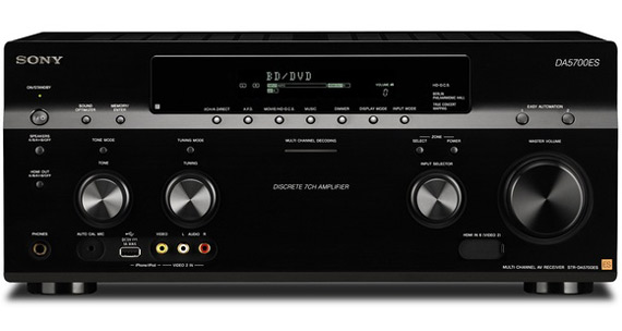 Sony DA5700ES, Αυθεντικός ήχος, κορυφαία ποιότητα κατασκευής