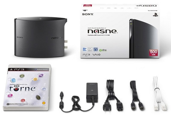 Sony nasne PVR, Πάει πακέτο με VAIO, Vita, PS3 και Xperia