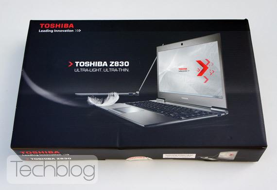Toshiba Portege Z830 ελληνικό unboxing