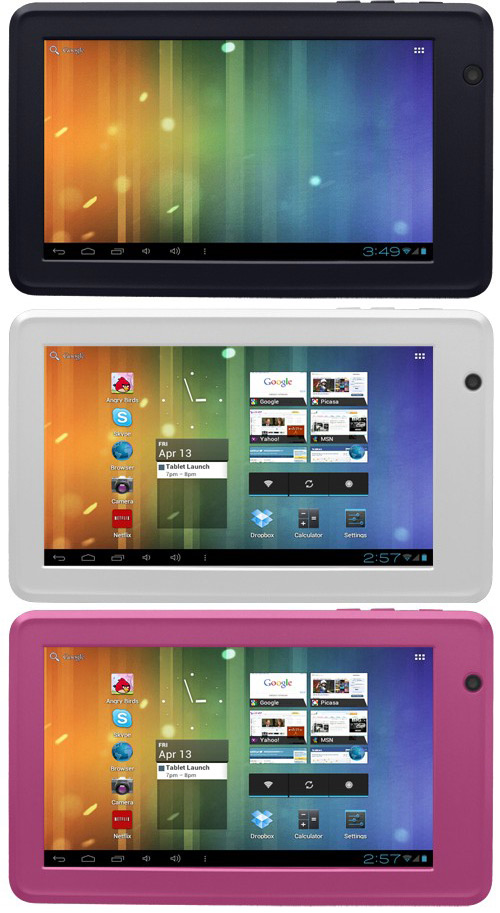 Xtek My Tablet, 7ιντσο tablet με Android Ice Cream Sandwich και 150 δολάρια Αμερικής