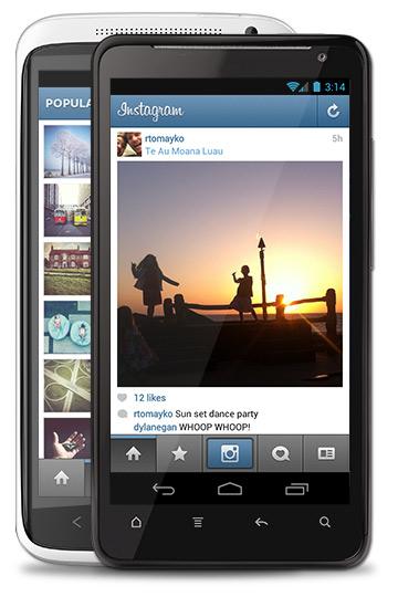 Διαθέσιμη η εφαρμογή Instagram για Android συσκευές