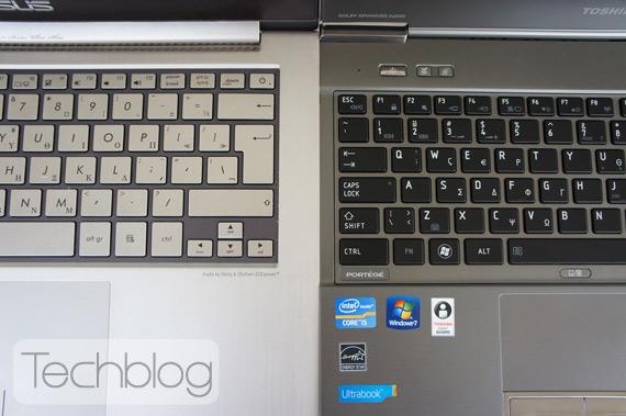 Δοκιμάζουμε το Toshiba Portege Z830-10H και το συγκρίνουμε με το ASUS Zenbook UX31
