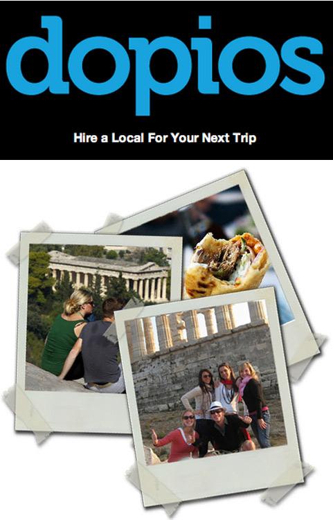Dopios.com, Ένα διαφορετικό τουριστικό site!