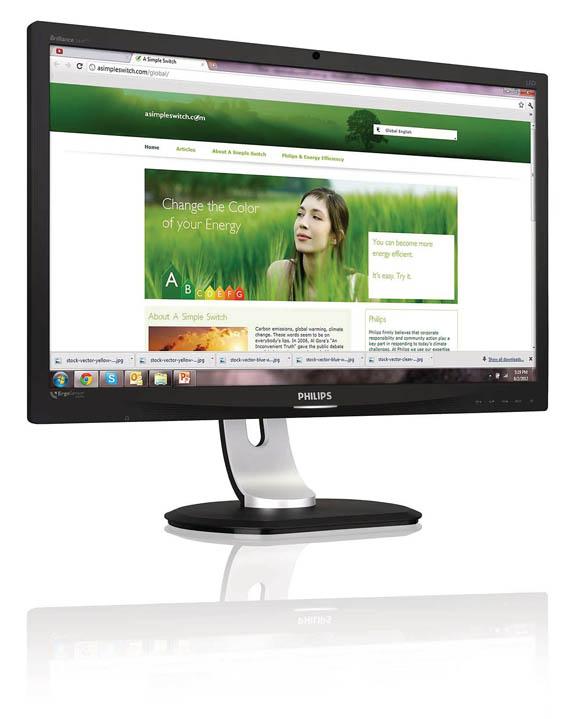 Philips ErgoSensor Desktop Display, Τώρα θα κάτσετε καλά!