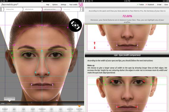 Face Metrics Pro HD για iOS συσκευές [Έλληνες developers;]