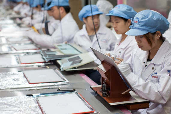 Foxconn, Επίσκεψη reporter στο εργοστάσιο στην Κίνα