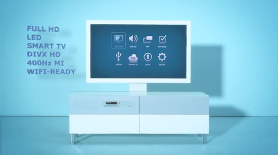 IKEA Uppleva, Τηλεόραση και Home Cinema από έναν κατασκευαστή επίπλων