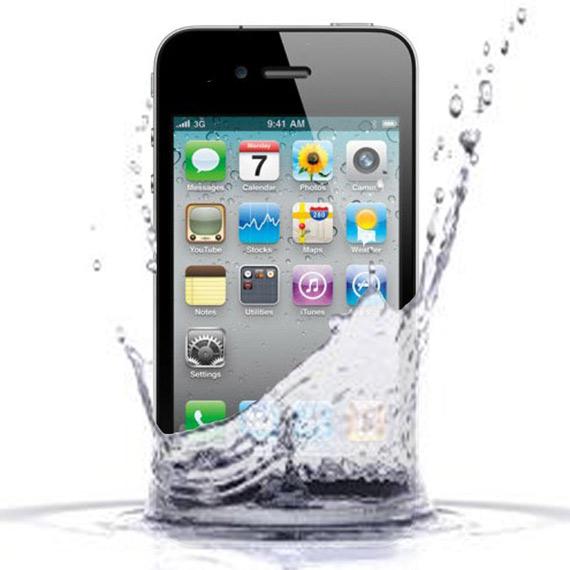 iPhone 4S, Τι να κάνετε αν σας πέσει στο νερό [βήμα - βήμα]