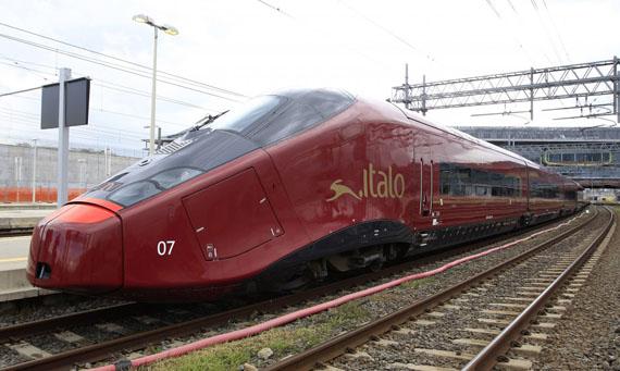 Nuovo Trasporto Viaggiatori Italo, Η Ferrari που τρέχει πάνω σε ράγες