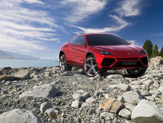 Lamborghini Urus Concept, Κούκλα και SUV σε αναμονή...