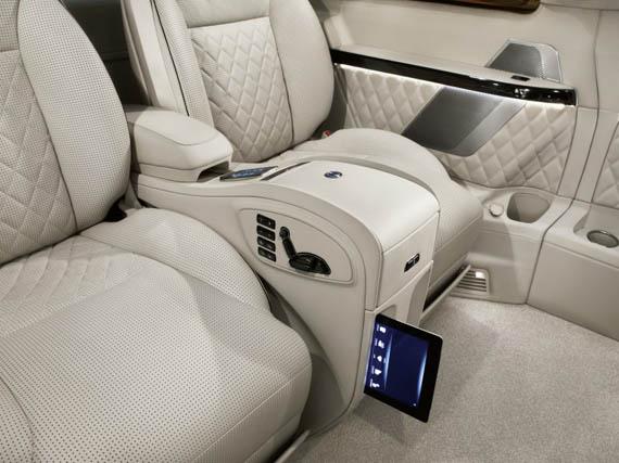 Mercedes Benz Viano Vision Diamond, Χλιδή σε τέσσερις τροχούς