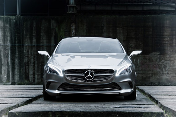 Mercedes Style Coupe Concept, Και coupe και τετράθυρο γίνεται;
