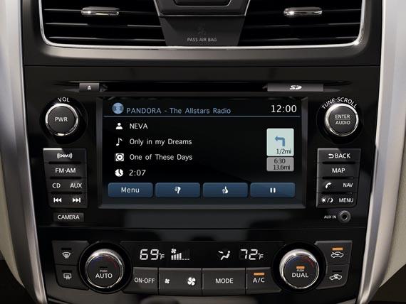 Nissan In-Car Infotainment System, Με καρδιά Intel το νέο σύστημα