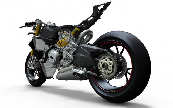 Ducati Paningale 1199, Γυμνό μέταλλο και άγρια γκάζια