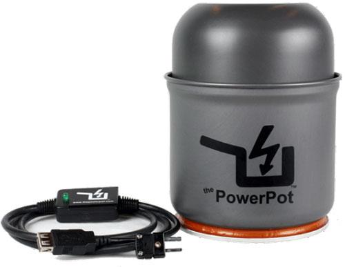 PowerPot, Φορτίστε τις συσκευές σας με τη θερμότητα