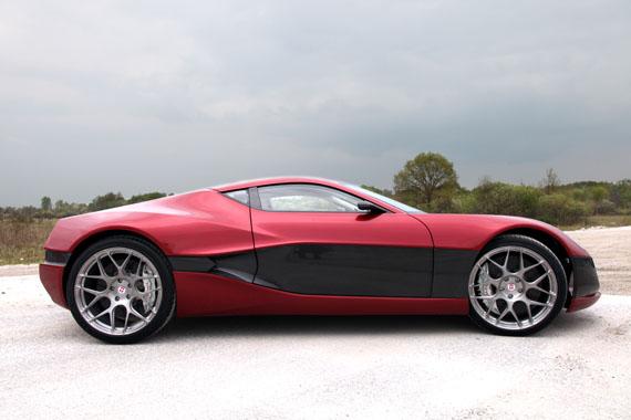 Rimac Automobili Concept One, Ένα ηλεκτροκίνητο θαύμα 1088 ίππων