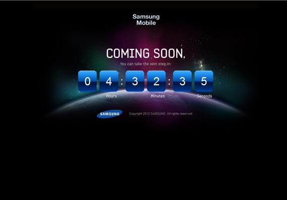 Samsung TheNextGalaxy, Αντίστροφη μέτρηση για το νέο Galaxy