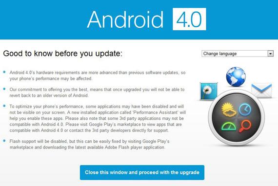 Sony Ericsson Xperia, Ξεκίνησε η αναβάθμιση σε Android 4.0 Ice Cream Sandwich [Ελλάδα]