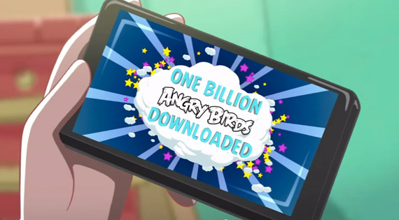 Angry Birds, Ξεπέρασε το 1 δισ. downloads