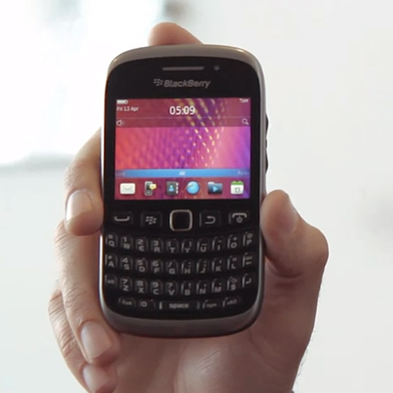 BlackBerry Curve 9320, Κάνει εμφάνιση για πρώτη φορά μπροστά στην κάμερα